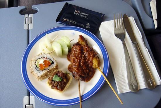 各大航空公司飞机餐大比拼
