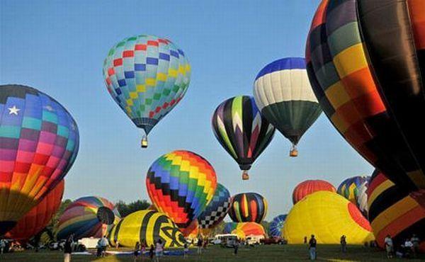 创意无限的热气球造型图片