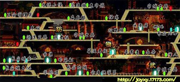 长安城地图功略