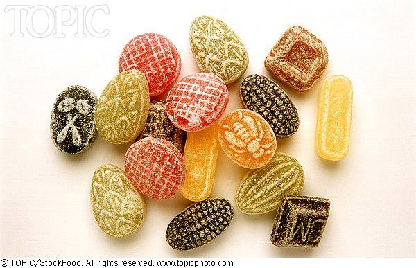 图片 好看又好吃的糖果