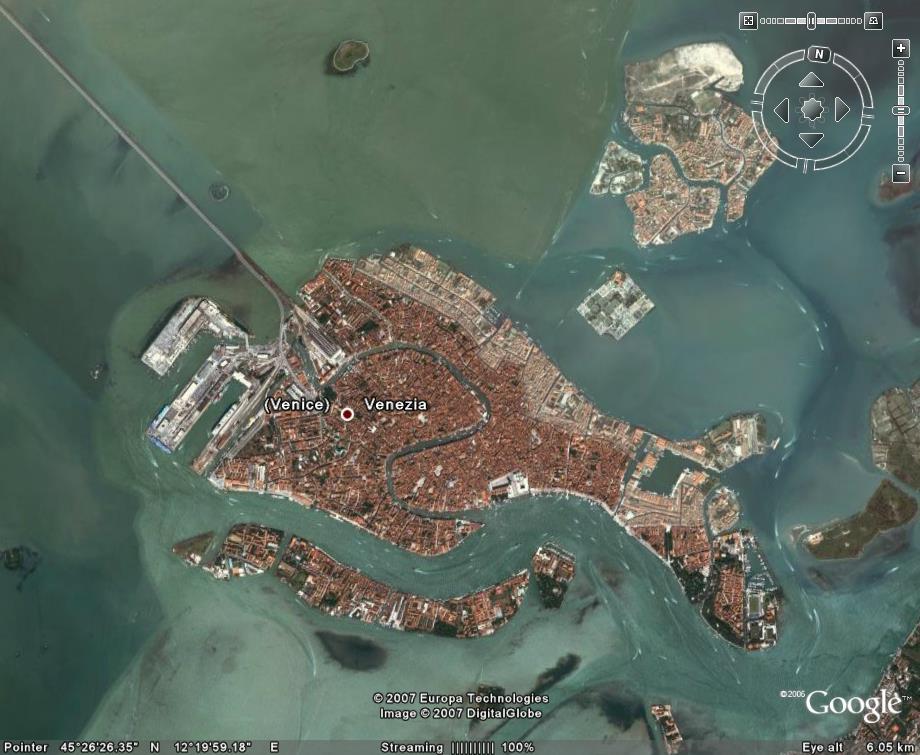 东地中海的各个港口的现实景色