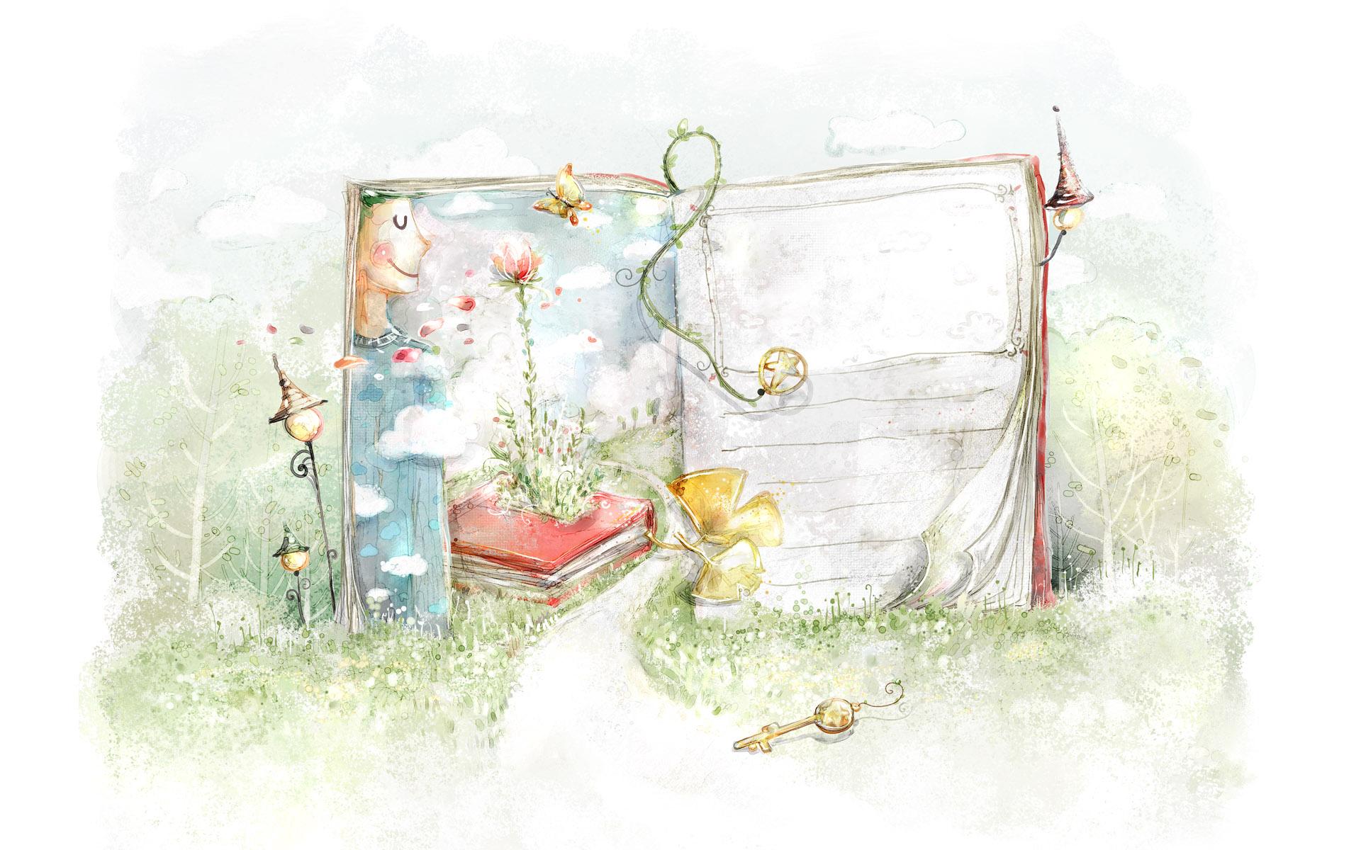 梦幻卡通风景壁纸
