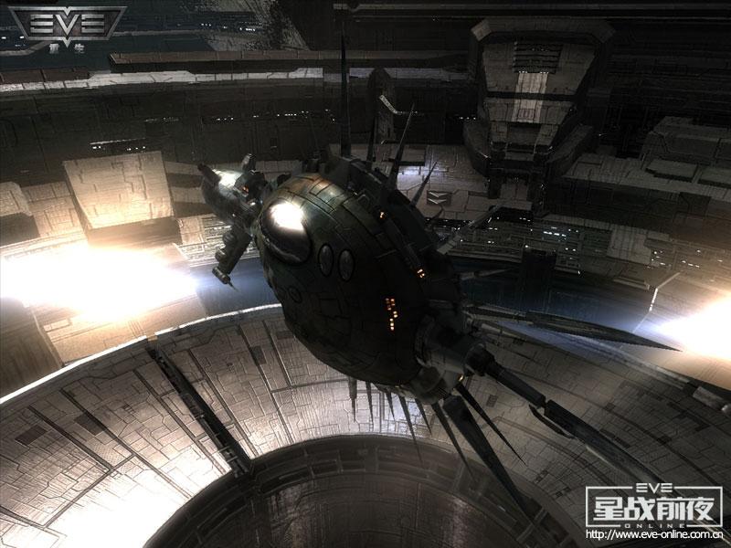 """...\""""级巡洋舰配以先进的挂载技术和极有效的能源核心其传奇性"""