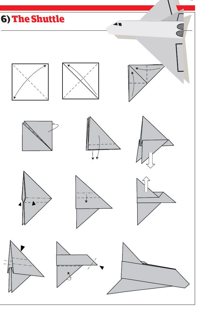 纸飞机的12种折法 - 小小紫微星 - 紫微轩