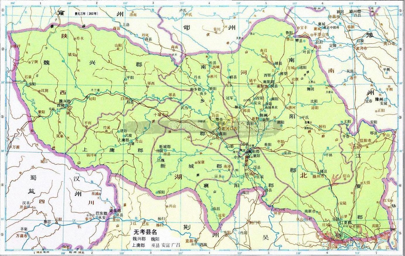 合肥区域划分地图