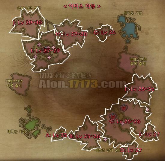 永恒之塔深渊怪物等级地图