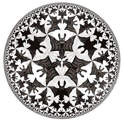 还艺术地                      比,并使用平面镶嵌的办法予以