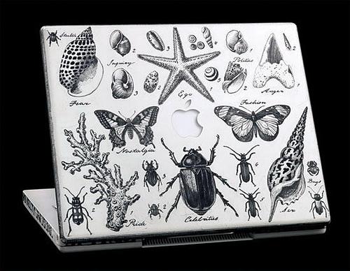 手绘苹果笔记本-图文沙龙
