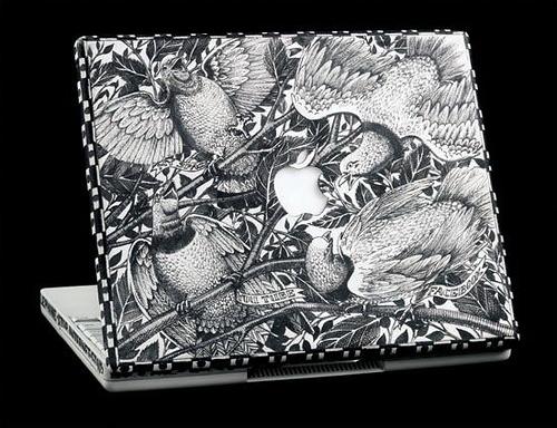 手绘苹果笔记本