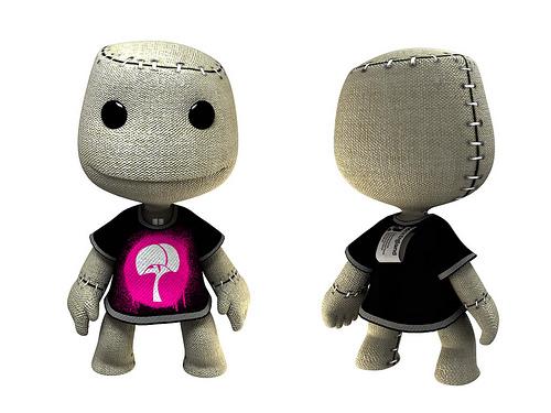 [ps3]《小小大星球》最新人物造型 t恤男和太空人