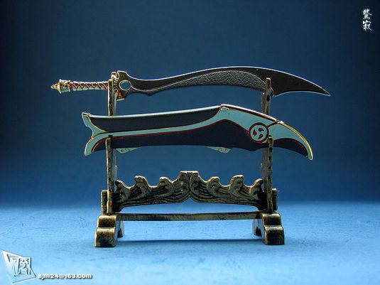 天刀浪人琵琶笛谱-凶兽·天罪贪狼·天刃惊寂刀大同剑两极剑