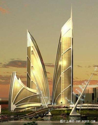 未来世界?看看迪拜奢侈新建筑!