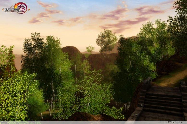 【17173剑三·图片】剑侠情缘三大量风景图欣赏(多图杀猫