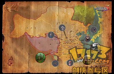 【17173剑三·资料】剑网三地图之烟雨扬州