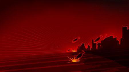 红色机甲指示灯素材