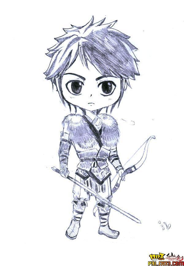 超可爱仙剑手绘q图挖.