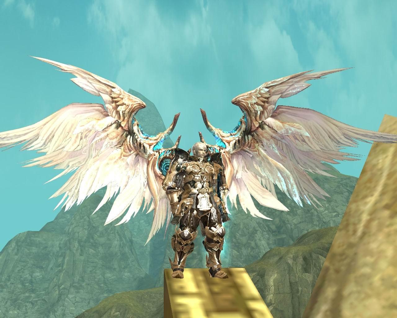 永恒之塔翅膀壁纸