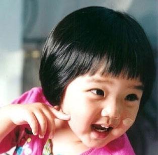组图:韩剧中可爱的小童星们