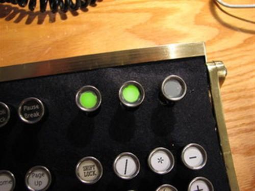 蒸汽朋克键盘
