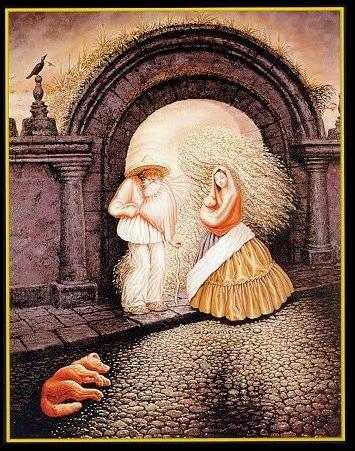 世界上最著名的24幅魔画........简直难以置信  - 愚人 - 愚人 似愚非愚 愚与形而慧与心