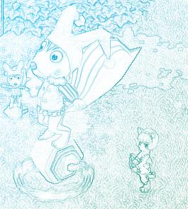 彩色铅笔画彼岸花 彩色铅笔画入门 彩色铅笔画入门教程 彩色铅笔画图片