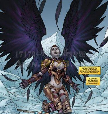 魔族的复仇永恒之塔dc漫画书北美发行主角为魔族女