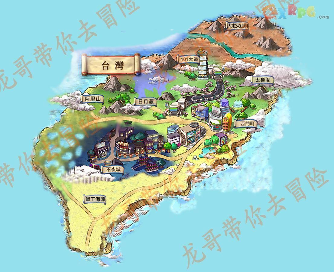 台湾色b破解_终于把台湾地图做好了