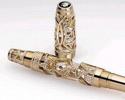 钢笔也能奢侈到极致![10P] - 南海子 - 古玉博物馆