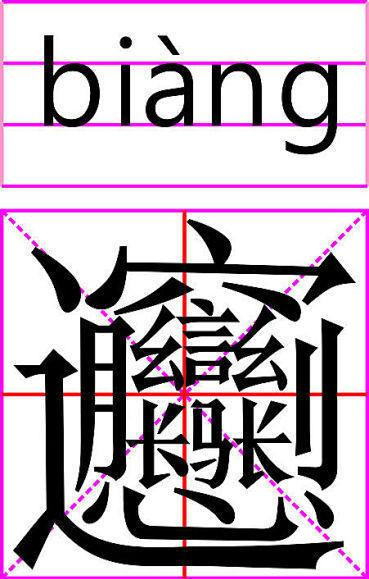 【传说中国笔画最多的一个字~~~~】~