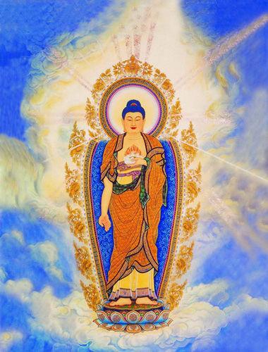 佛像《南无阿弥陀佛》 - 正觉 - 正觉博客