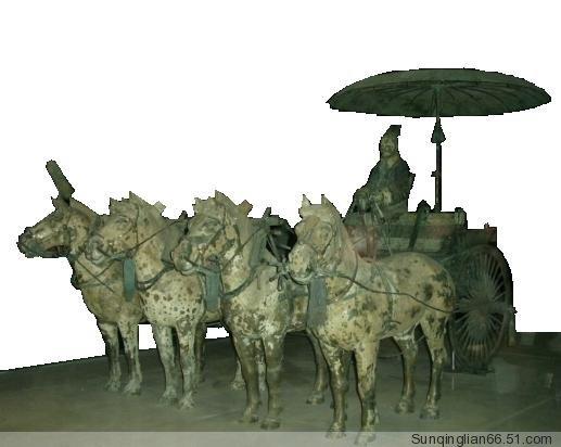 古代马车结构图解