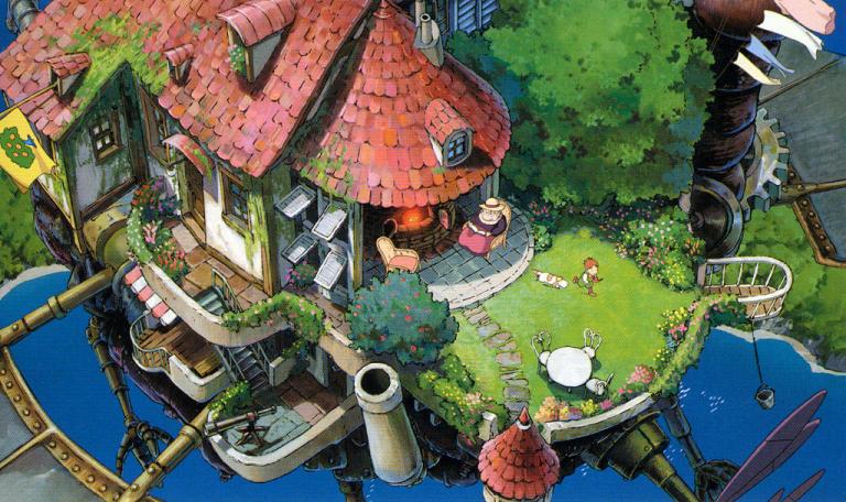 赏析宫崎骏经典作品——《哈尔的移动城堡》