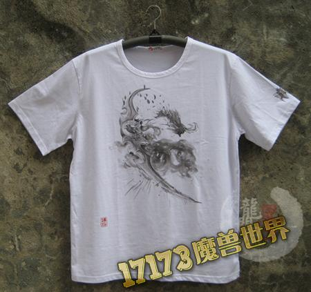 【原创手绘t恤】当魔兽遭遇中国风(第一季伊利丹)