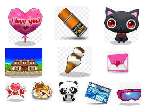 ④游戏内植入广告,部分道具打上可爱多logo ⑤问答积分回馈
