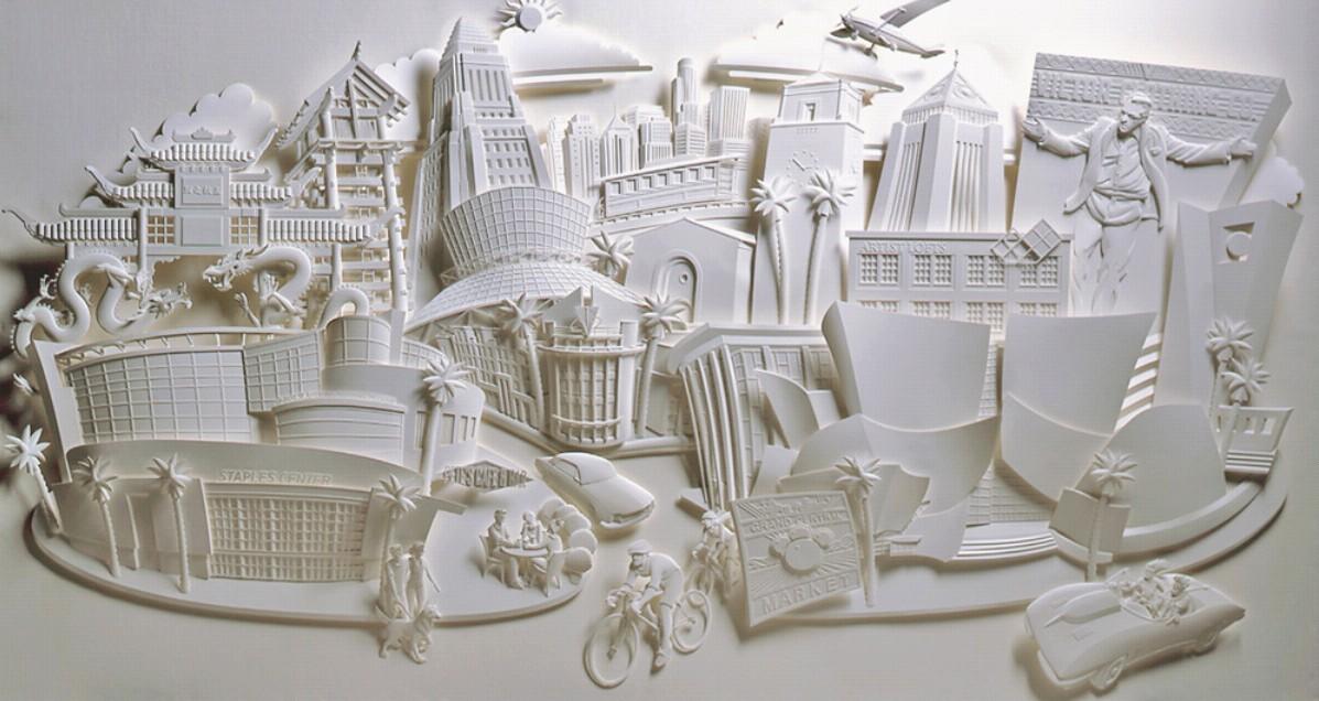 海底世界手工纸雕图片