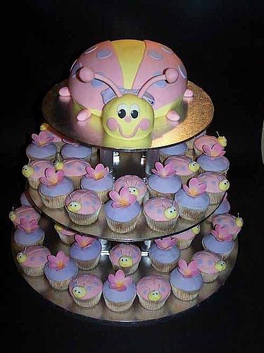 独具创意的超可爱结婚蛋糕