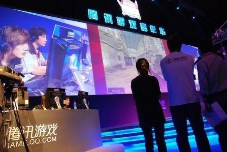 腾讯游戏嘉年华cf冠军挑战赛周末上演高清图片