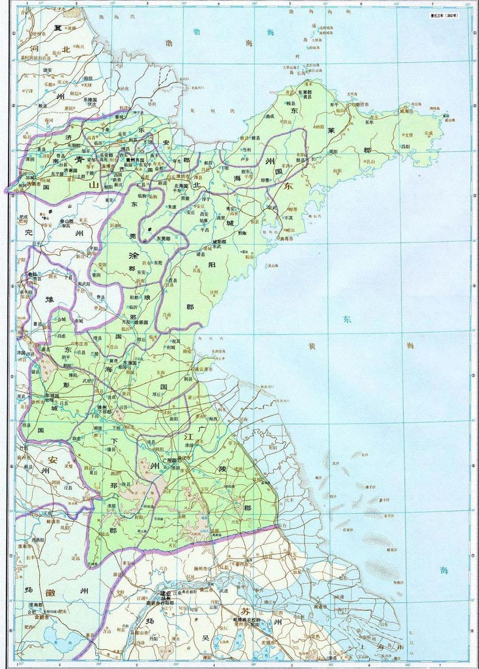 青州到青岛地图