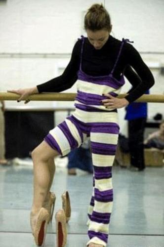 20厘米踮脚芭蕾高跟鞋