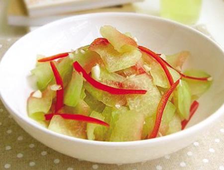 西瓜皮的10种健康吃法图片