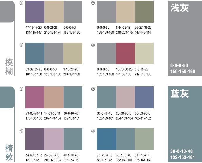 【ps色彩】最舒服的色彩搭配