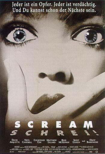 """影视综合 69 盘点90年代三十张最佳电影海报    虽然说是""""惊声尖叫"""""""