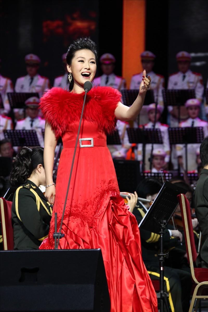 常思思亮相付林音乐会 人民大会堂献唱新歌《天泉》图片