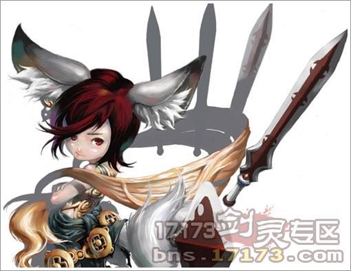 剑灵 玩家手绘 彩绘 剑灵综合讨论区 爱游戏,爱17173