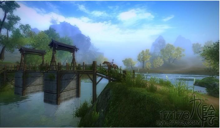 九阴美景如画之小桥流水人家:木桥篇