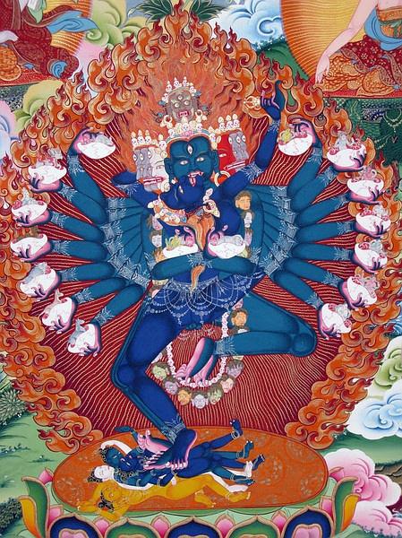 [转载]唐卡中的藏传佛教画像~~~解读