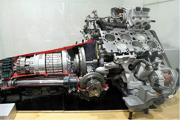 0升w12增压发动机结构