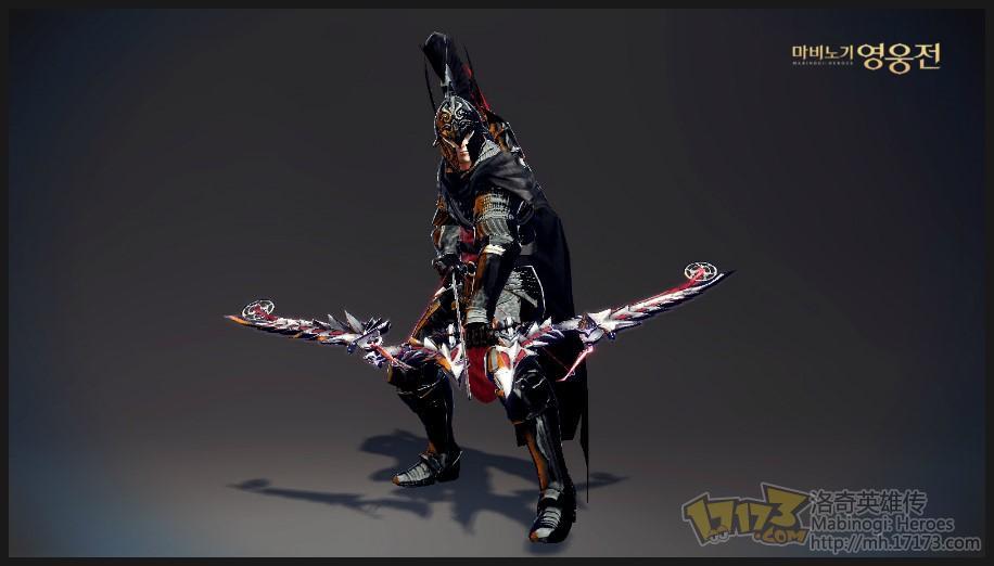 卡伊黑戎色王国骑士套装展示-《洛奇英雄传》综合讨论