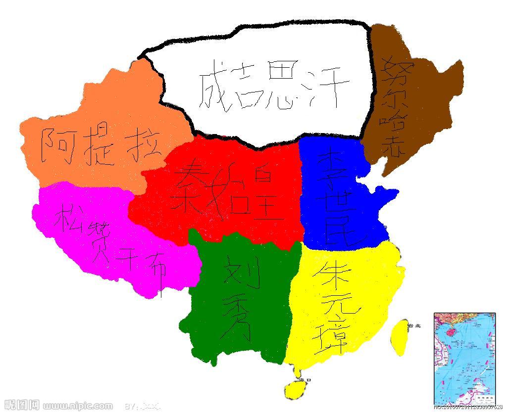 乌鲁木齐历史地图